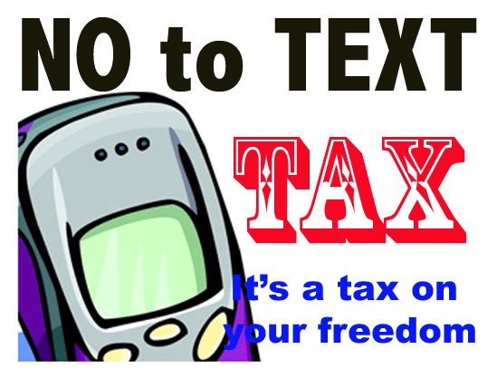 A tax on your freedom...