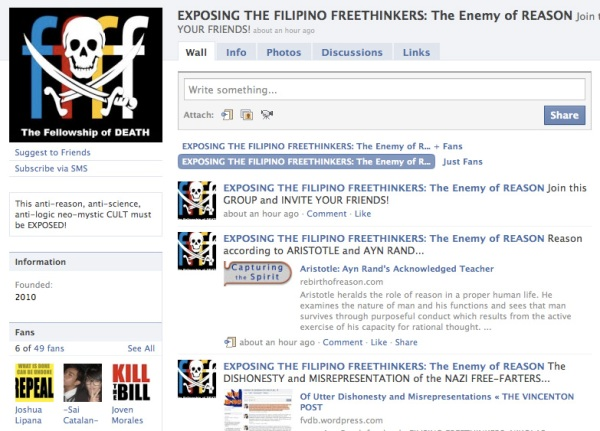 EXPOSE THE FILIPINO FREETHINKERS!