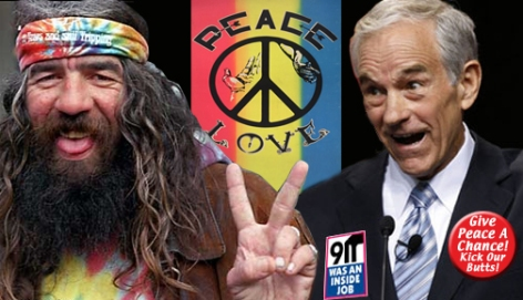 "Ron Paul's ""Revolution"" is destroyed by the virus of political correctness."