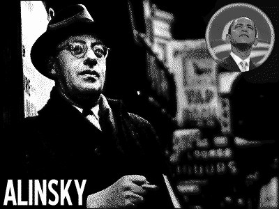 Saul Alinsky and his devoted student Barack Obama aka Barry Sotoero