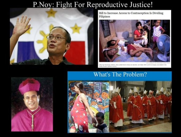The pro-RH bill people are clearly talking CRAP!