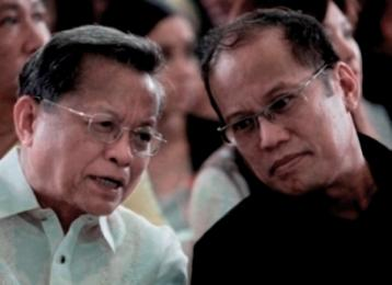 Ex-CJ Puno and Pres. Aquino.