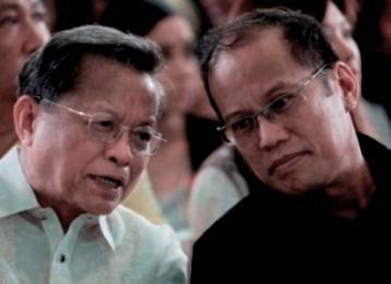 Ex-CJ Puno and Pres. Aquino.